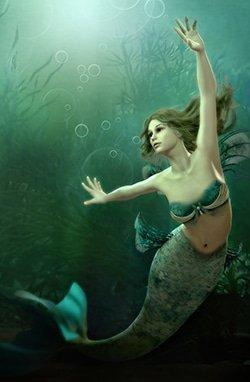 a type of being known as a mer, mermaid, or merfolk